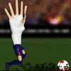 Play Messi hand on the run
