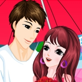 Play Romantic Rainy Valentine